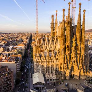 巴塞罗那大教堂旅游景点攻略图