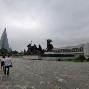 平壤军事博物馆旅游景点攻略图