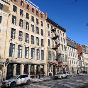 蒙特利尔老城旅游景点攻略图