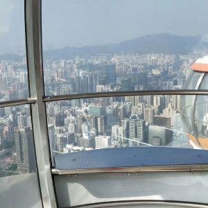 460米摩天轮旅游景点攻略图