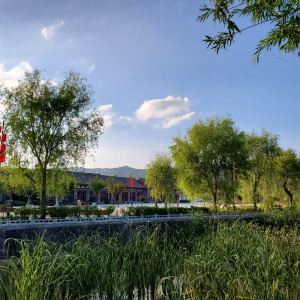 晚霞湖国家水利风景区旅游景点攻略图