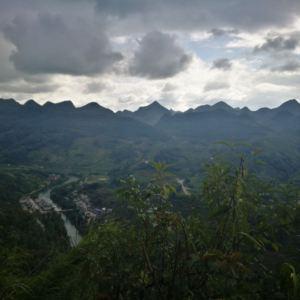 百里峰海观景台旅游景点攻略图
