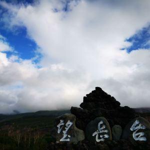 十胜岳望岳台旅游景点攻略图