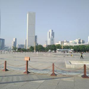 天津海河文化广场旅游景点攻略图