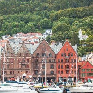 卑尔根布吕根码头旅游景点攻略图