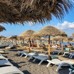 卡马利黑沙滩旅游景点攻略图