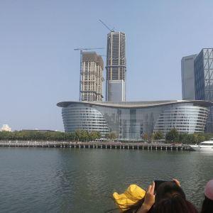 海河外滩公园游船旅游景点攻略图