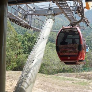 兰卡威缆车旅游景点攻略图