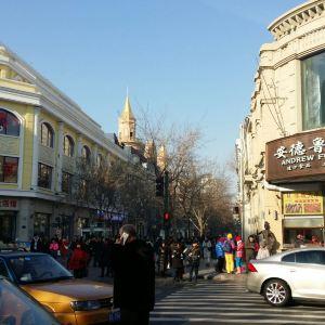 中央大街七彩冰雕大世界旅游景点攻略图