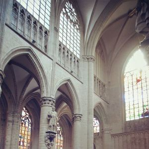 圣米歇尔及圣古都勒大教堂旅游景点攻略图