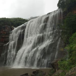 赤水丹霞旅游区·大瀑布旅游景点攻略图