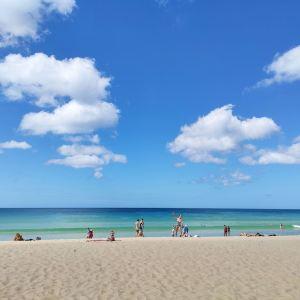 卡伦海滩旅游景点攻略图