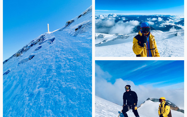 送给自己30岁的生日礼物,登顶哈巴雪山!