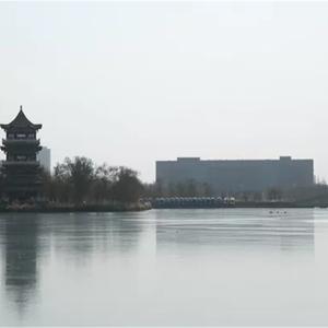 和田市游记图文-暖冬游昆仑湖公园 放飞心情