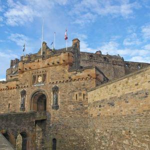 爱丁堡城堡旅游景点攻略图