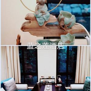 杭州游记图文-杭州蓝之莲亚博体育app官网美好下午茶时光
