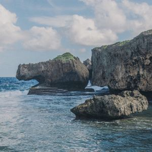 鳄鱼头海滩旅游景点攻略图