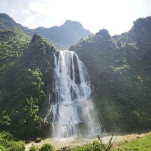 滴水滩瀑布旅游景点攻略图