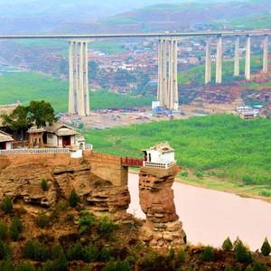 佳县游记图文-跟着老夏去陕西---香炉峰走走。