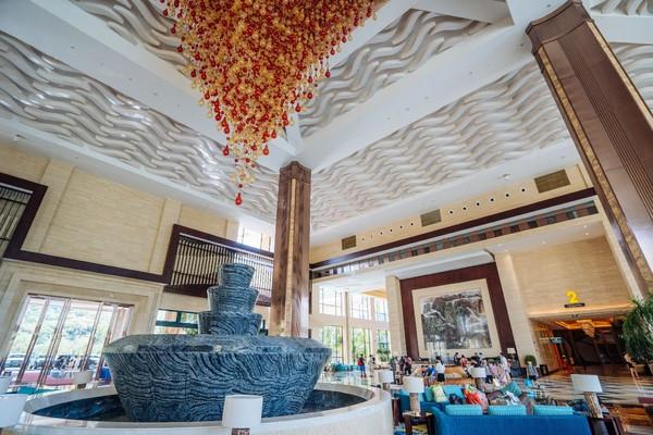 广州白水寨嘉华温泉酒店,坐看飞瀑,回归心灵