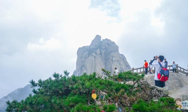 天柱山 江淮第一山,《琉璃》取景地,请收下它的名片