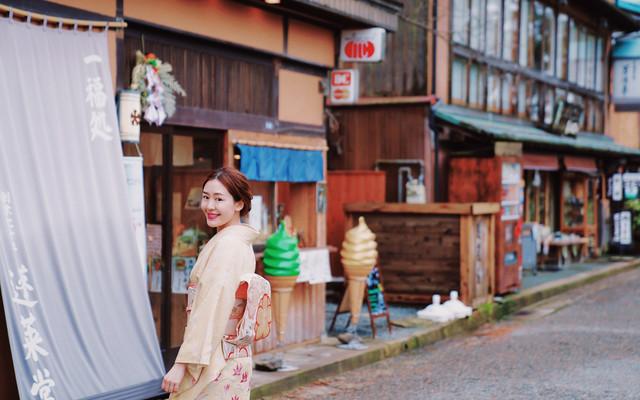日本   冬天就该看雪泡汤吃肉,品味原汁原味的日本文化风情