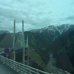 果子沟大桥旅游景点攻略图