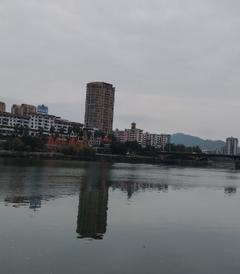 [将乐游记图片] 上河洲公园,金溪烟雨画卷——福建7日(22)