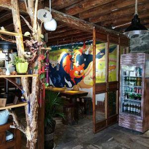 口福人家·百年石屋·庭院花园餐厅旅游景点攻略图