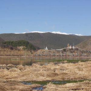 拉姆央措湖旅游景点攻略图