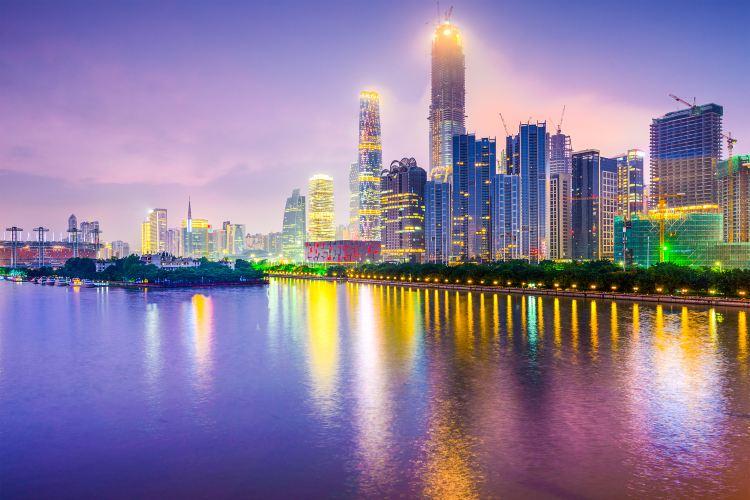 珠江夜遊廣州塔碼頭3