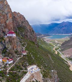 [拉萨游记图片] 西藏拉萨,千山暮雪,只想见你