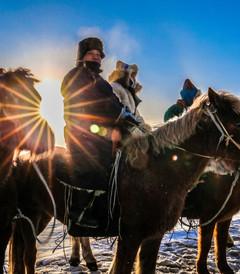 [满洲里游记图片] 呼伦贝尔的冬天,一场美丽的冰雪奇缘《呼伦贝尔冬天》