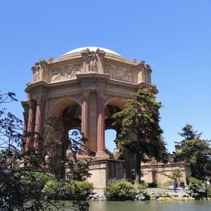 旧金山艺术宫旅游景点攻略图