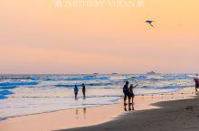 冬日大角湾,马尾夕照美如画,游泳踏浪放风筝,景美人少更宜游