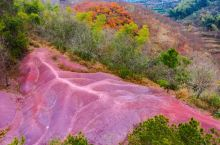 """宁波这里竟隐藏一座""""火焰山""""!犹如一颗巨大的心脏镶嵌在山林深处…"""