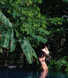 [三亚游记图片] 三亚酒店 | 假装在清迈度假?大海与丛林我都想要!