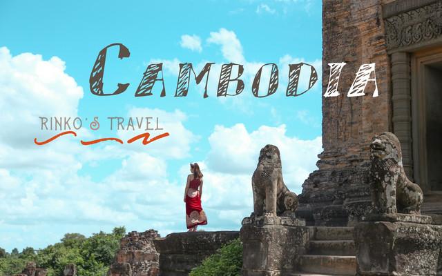 手绘柬埔寨|坐tutu游吴哥窟,在暹粒的十张小画
