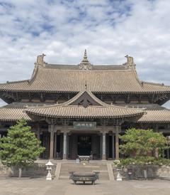 [大同游记图片] 出京一直向西走,去大同访古纳凉之一:华严寺