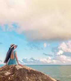 [惠东游记图片] 双月湾,你是否也有一个海居梦(摄影+攻略)