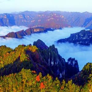光雾山游记图文-第十八届四川光雾山红叶节将于10月18日开幕
