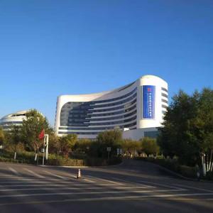 乌海游记图文-来沙漠看海--记乌海兴泰蓝海名都假日酒店入住体验