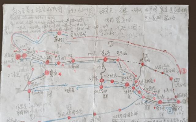 剑门关登山路线图