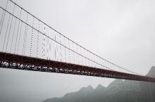 终于见到了坝陵河大桥