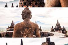 印尼婆罗浮屠,云雾仙境中的古代东方奇迹