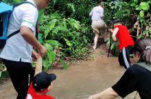 勐远仙境户外活动—雨林穿越的过河