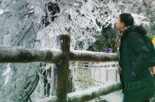冬日的五指峰