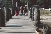 曼德勒郊外乌本桥