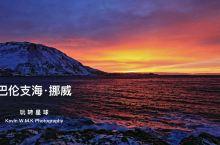 北纬71°拍摄北极光