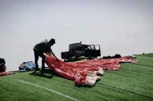 超美的西双版纳航空基地滑翔伞体验